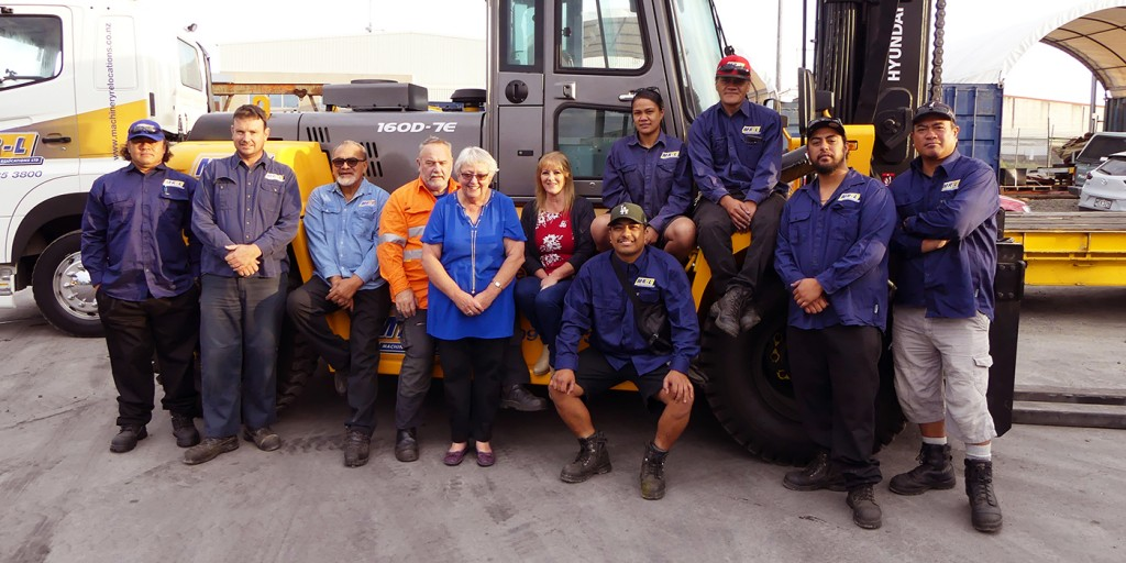 Machinery Relocations Team